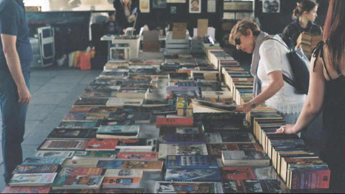 Local Parisian Book Market